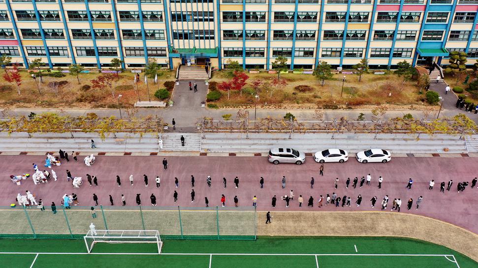 South Korea virus cases hit highest level since March