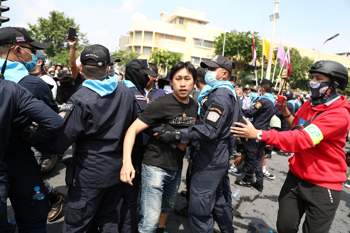 Protests loom as drag on Thailand's recovery