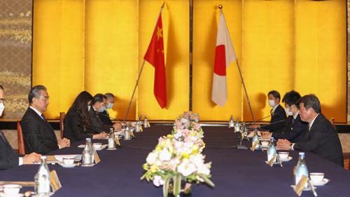 Wang Yi's Japan visit aims to deepen bilateral ties