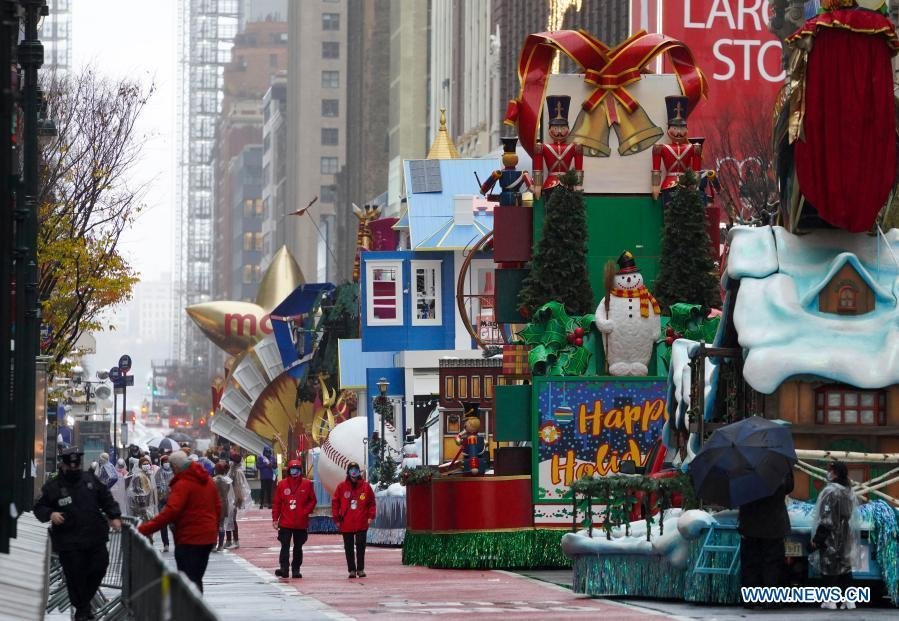 Macy's Thanksgiving Day Parade amid COVID-19 pandemic