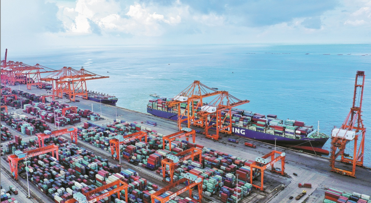 China leads strong recovery of global trade flow