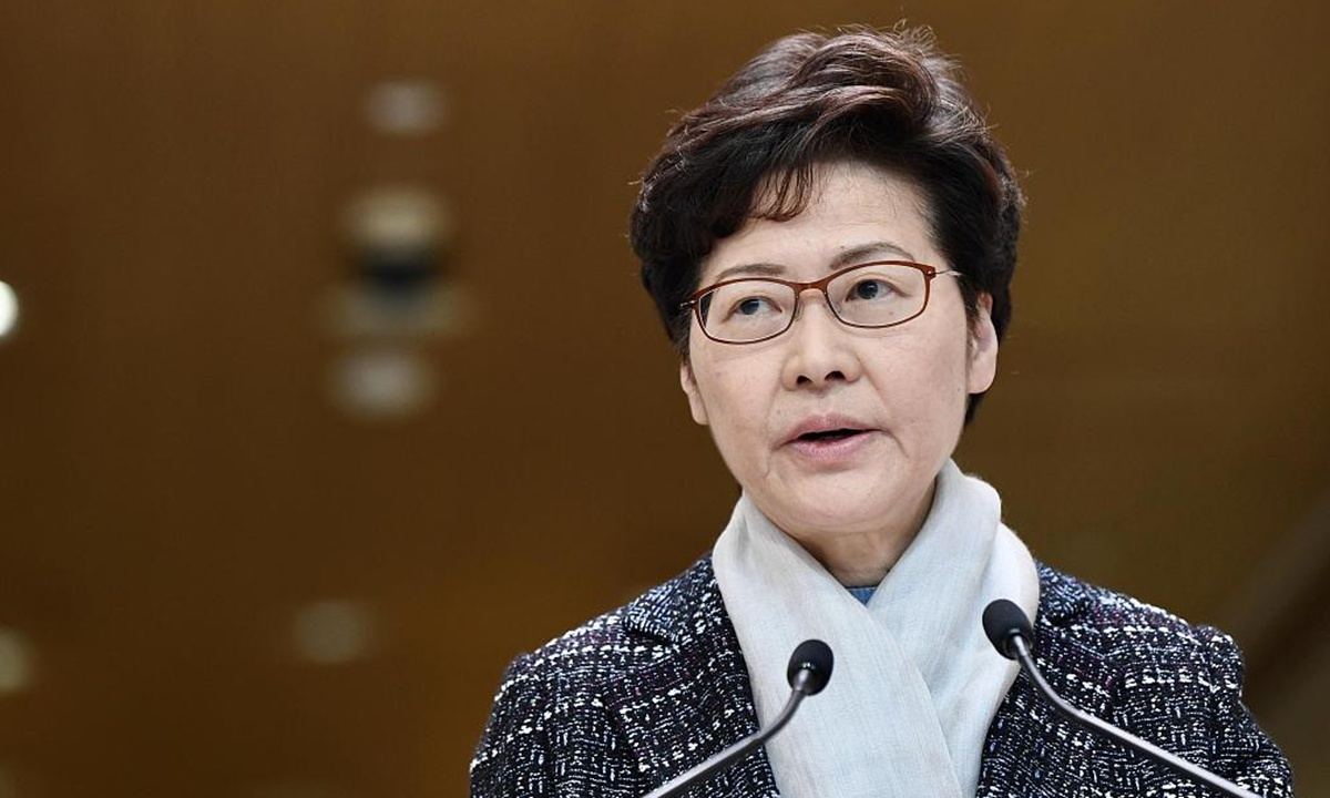 Carrie Lam forced to pay everything in cash due to US sanctions