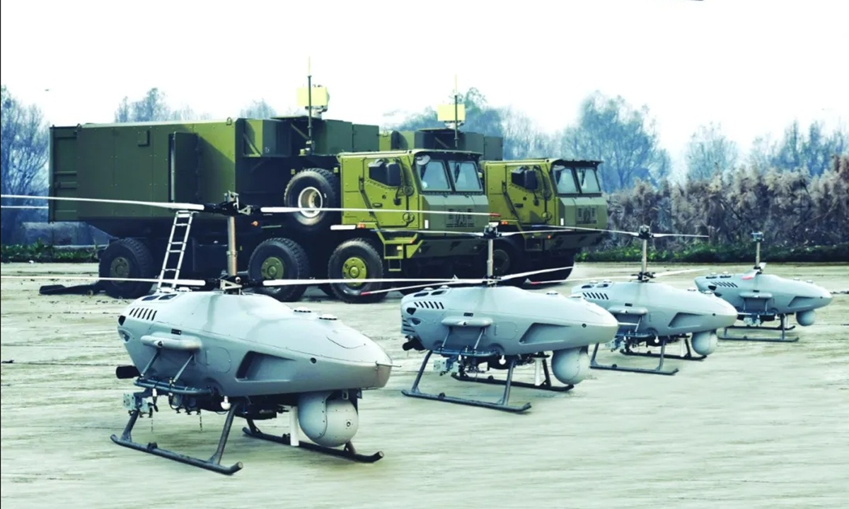 Chinese arms firm ready to deliver indigenous helicopter drones