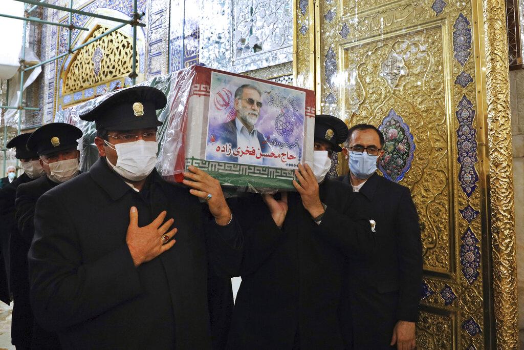 Iran prepares to bury killed nuclear scientist as it mulls response