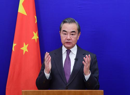 Wang Yi: China, Japan should make differences controllable