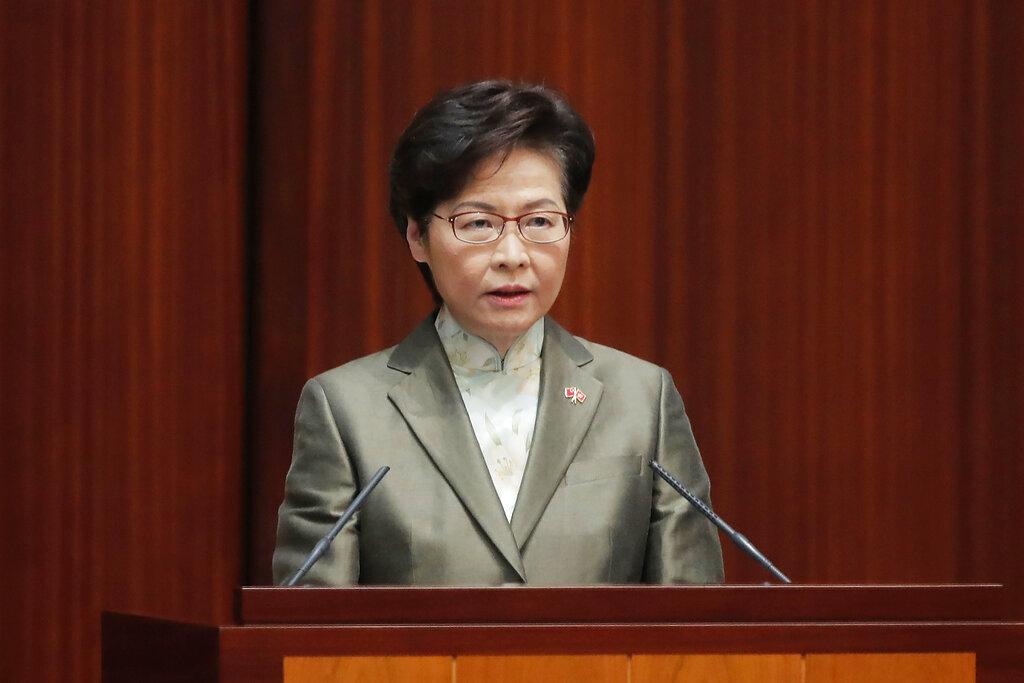 HKSAR chief executive highlights Hong Kong's advantages in B&R cooperation
