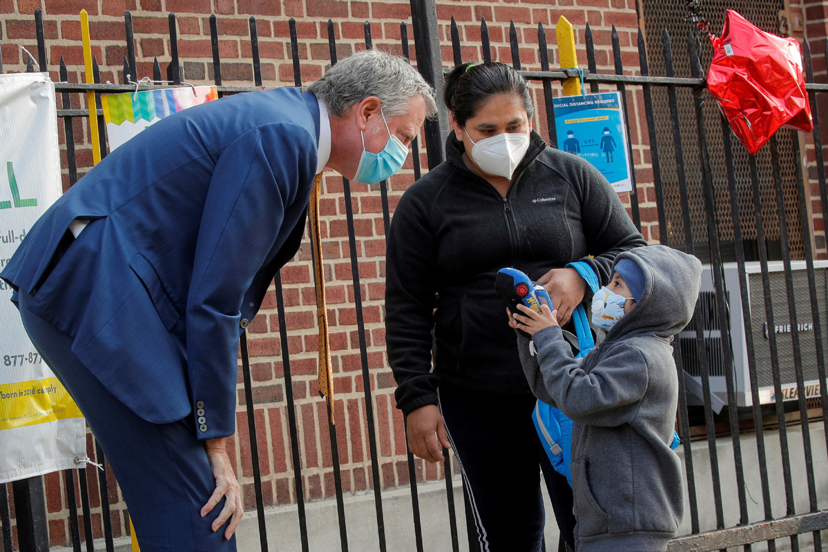 NYC announces plan to return to in-person learning at public elementary schools