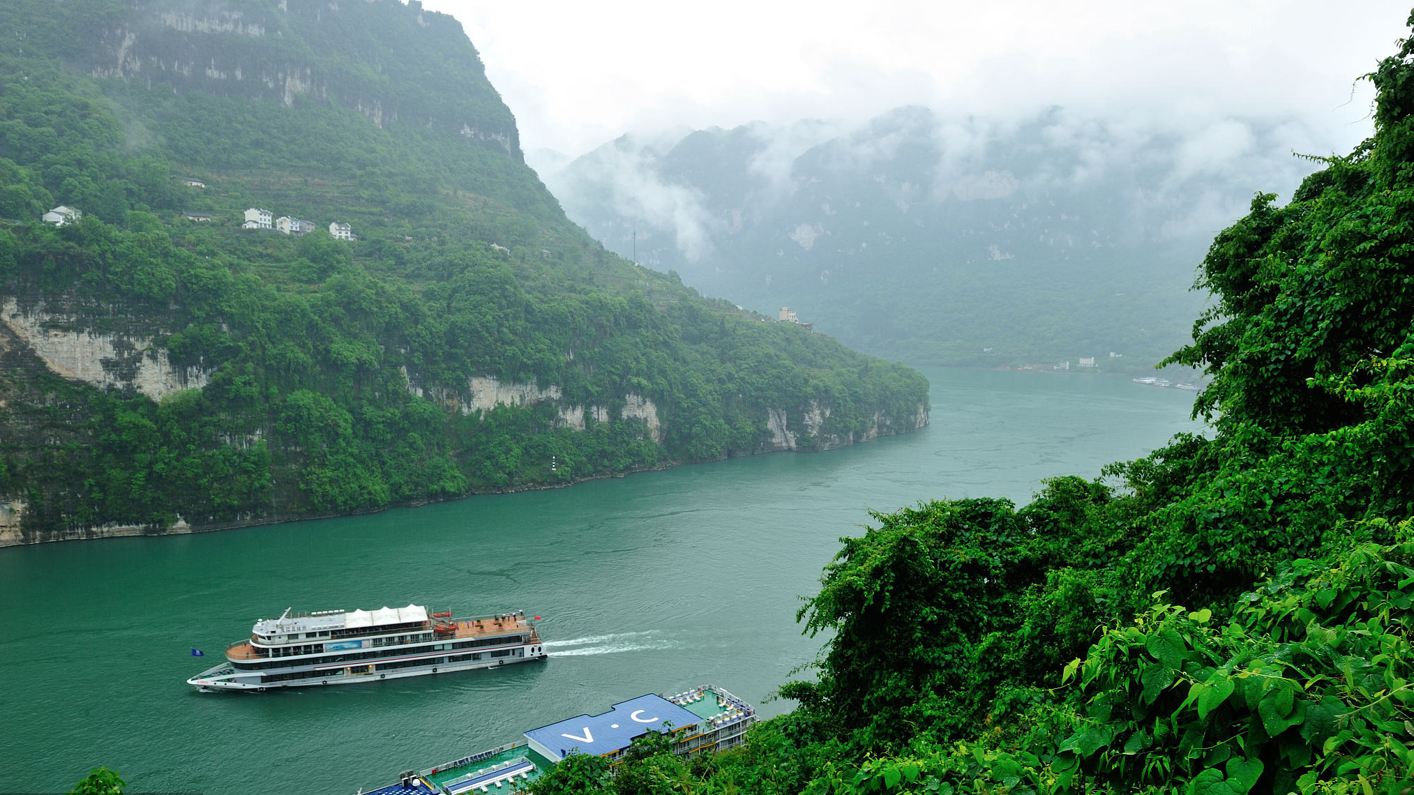 Chinese vice premier stresses high-quality development of Yangtze economic belt