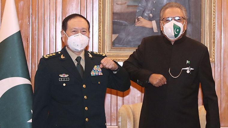 Pakistan says to support China on South China Sea, Taiwan, Xinjiang and Tibet
