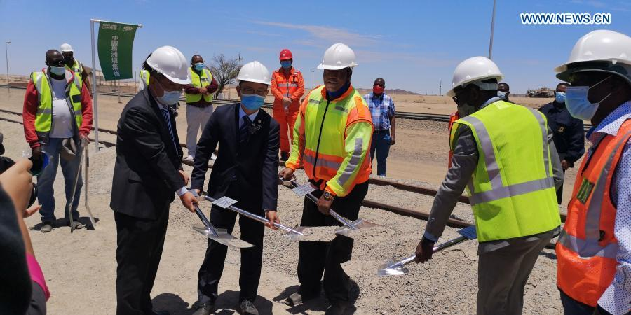 Chinese construction company to help strengthen Namibia's transport, logistics
