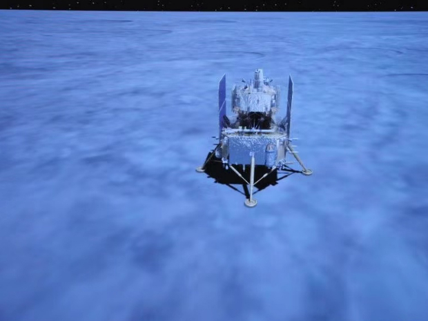 China's Chang'e-5 probe successfully lands on moon