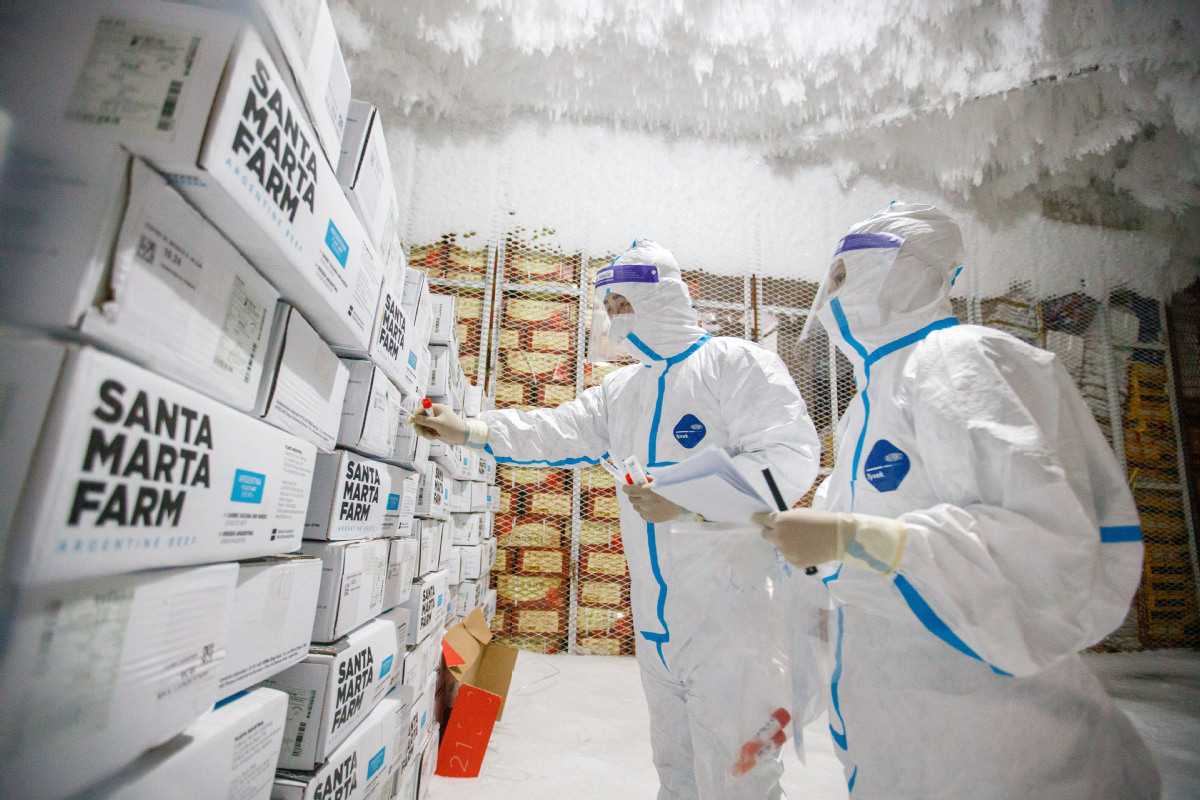 Qingdao official vows better cold food handling