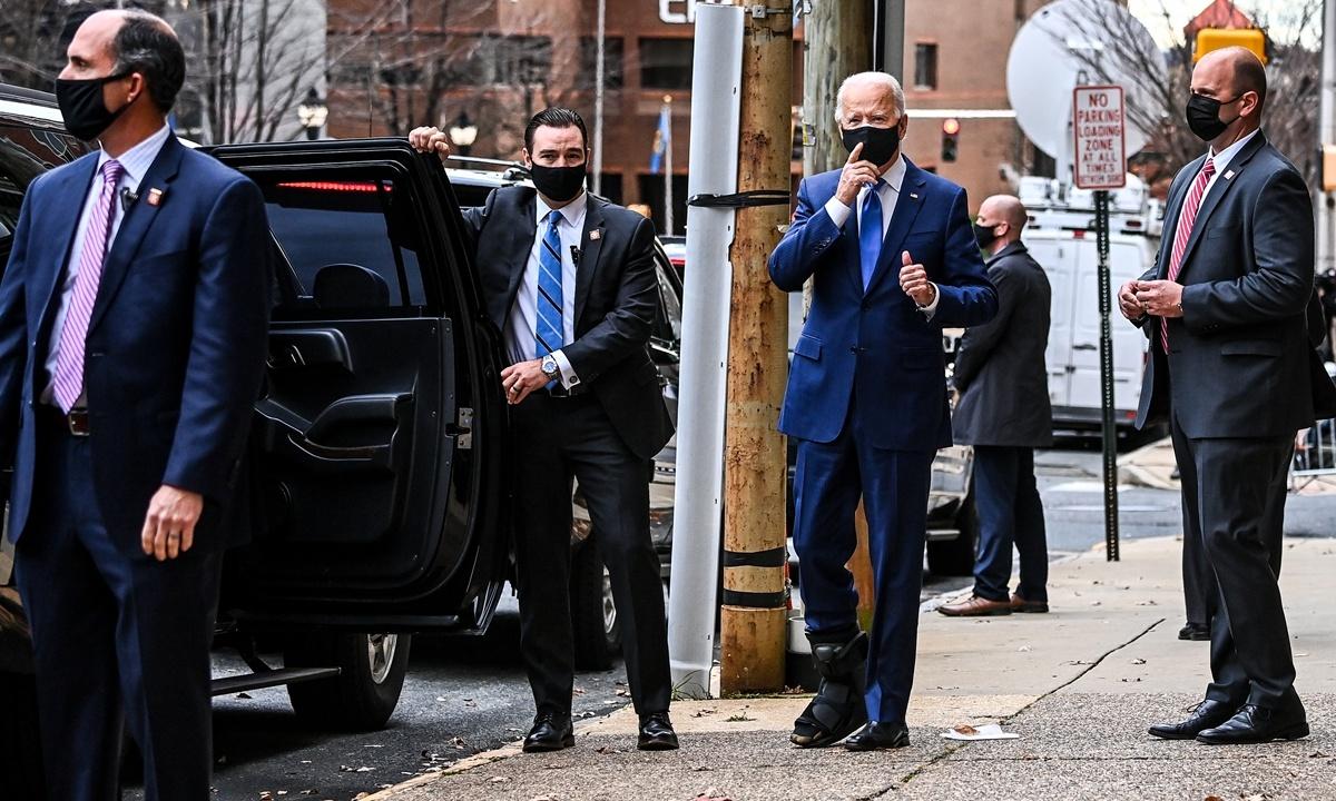 Biden pledges economic recovery on way