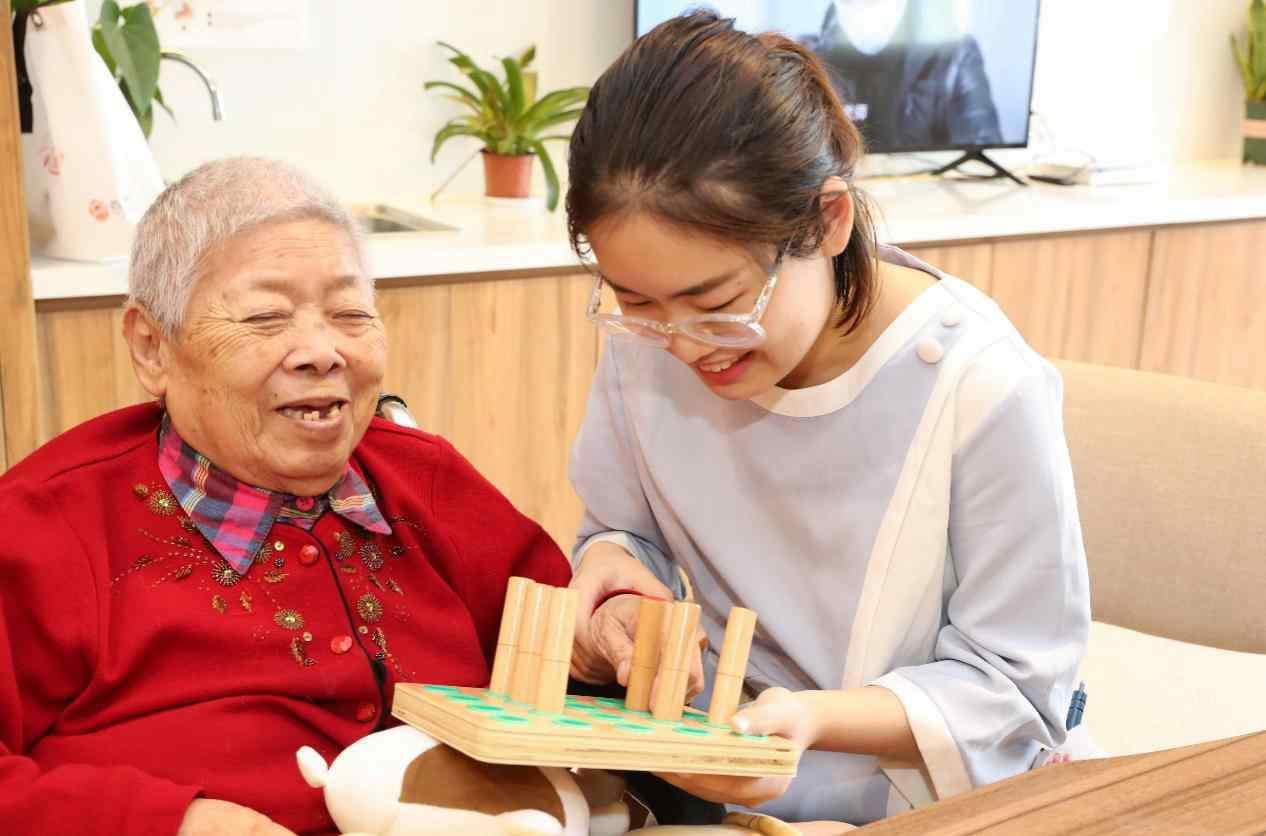 China's elderly care market boosts rapid industrial development