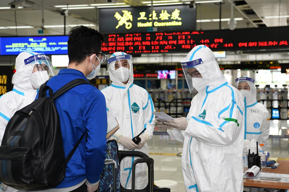 Shenzhen reports one new asymptomatic COVID-19 case