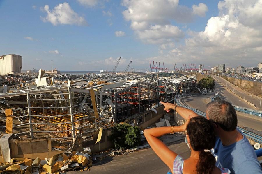 UN chief launches plan to revitalize Beirut