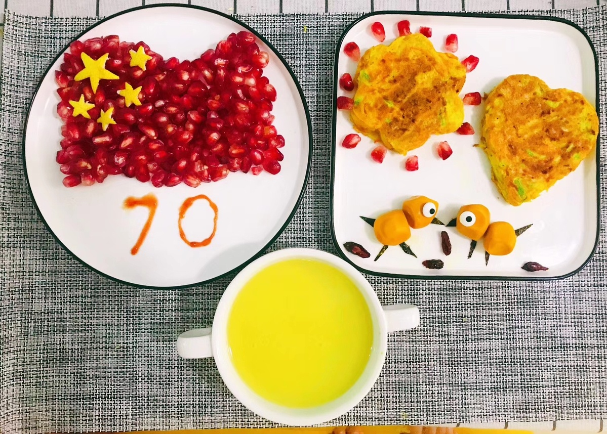Art meets nutrition in breakfasts for 7-year-old