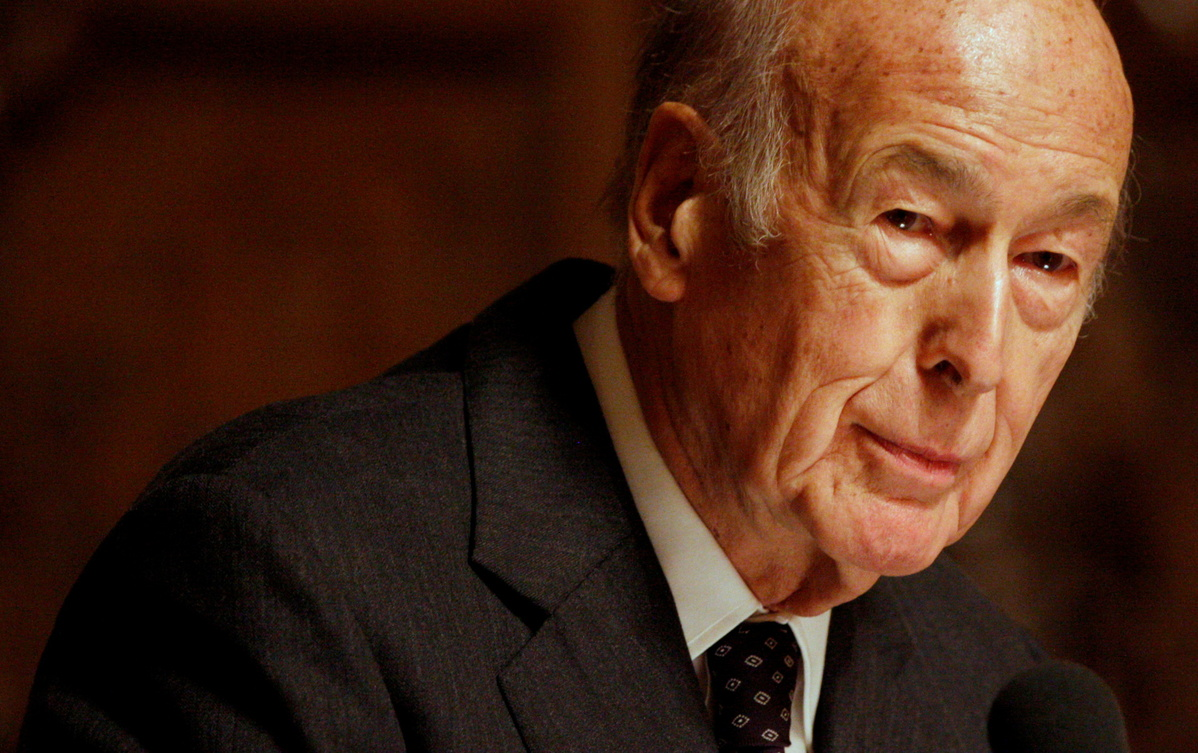 Xi extends condolences over passing of former French President Valery Giscard d'Estaing