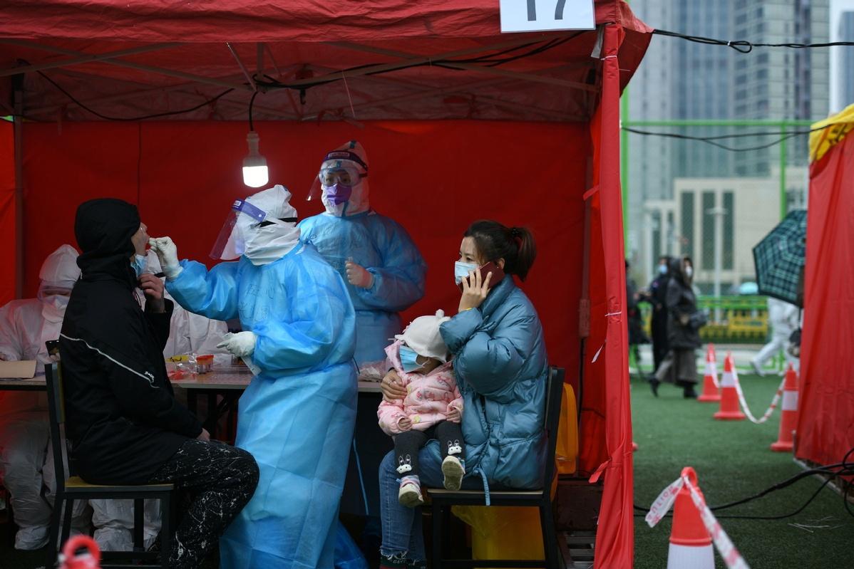 In Tianjin community, coronavirus is waning