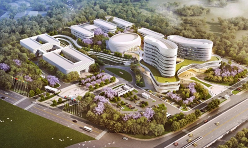 Chinese company wins bid for the first phase of the African CDC project