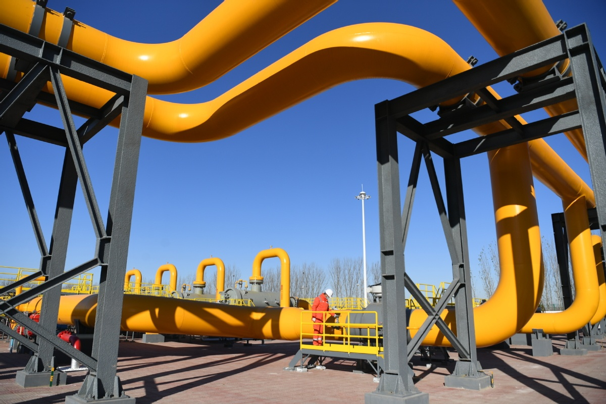 Sino-Russian pipeline expands gas supply area