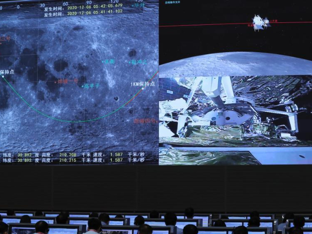 China completes first spacecraft rendezvous, docking in lunar orbit