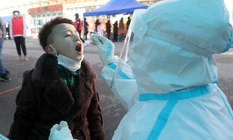 6-year-old girl in Tianjin tested positive for COVID-19 after 7 negative results in 2 weeks