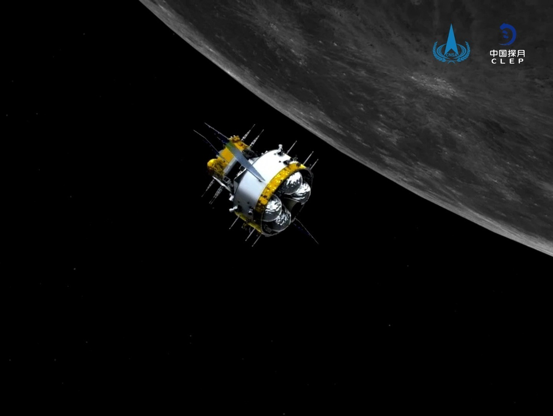 Chang'e-5 orbiter-returner separates from ascender