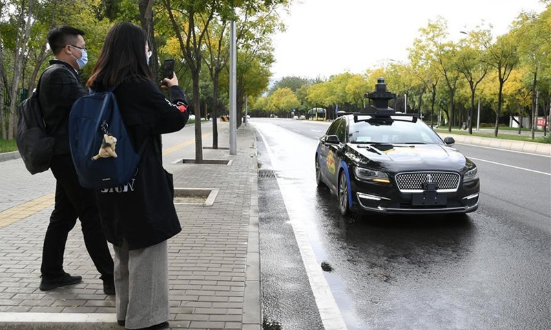 Baidu gets first permit for fully driverless road tests in Beijing