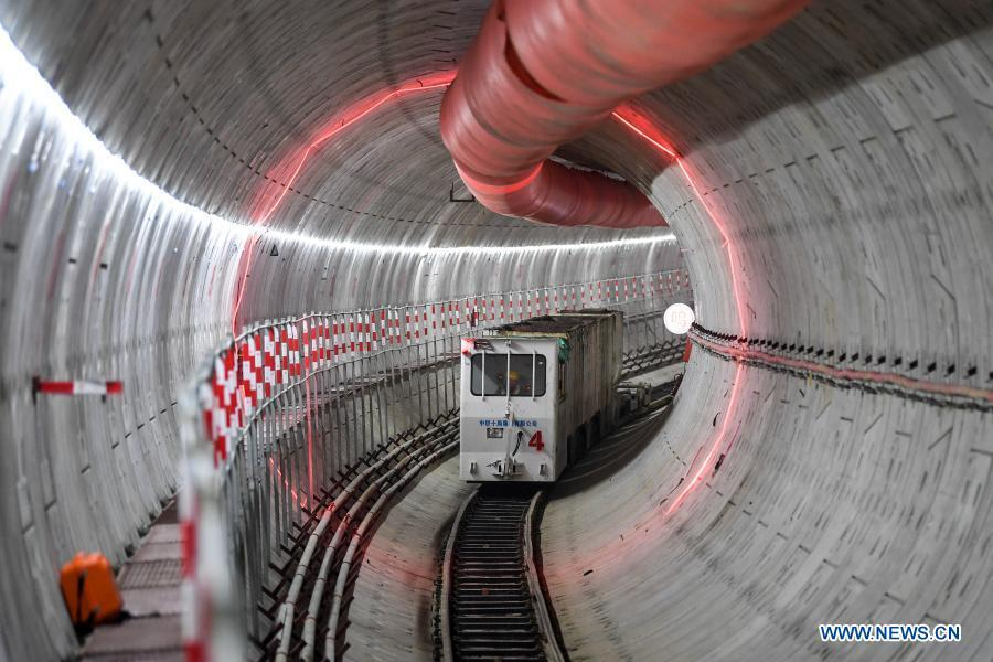 In pics: construction site of Suzhou Subway Line S1