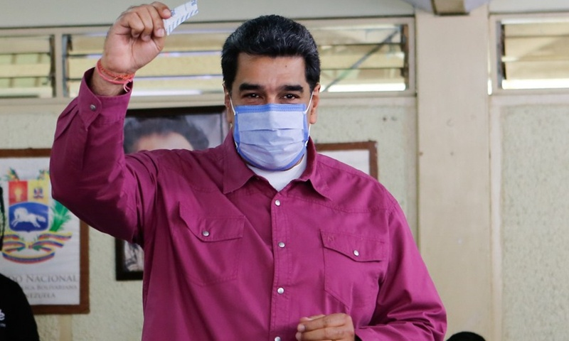 Venezuela's Maduro calls on opposition to resume dialogue after legislative elections
