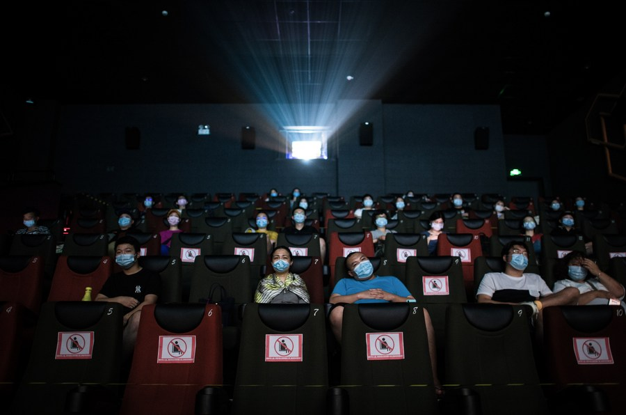 China's 2020 box office surpasses 17 bln yuan