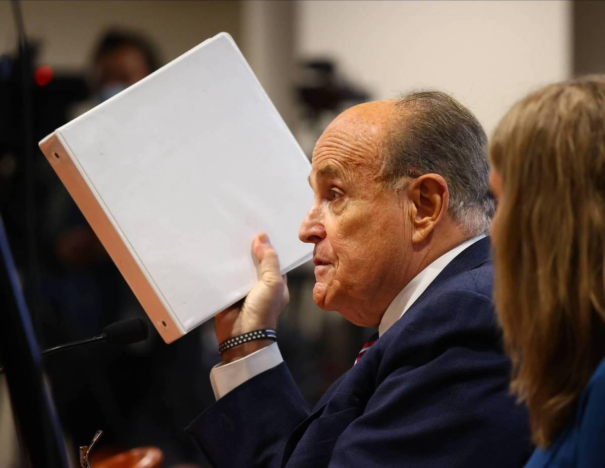 Trump's attorney Rudy Giuliani tests positive for COVID-19