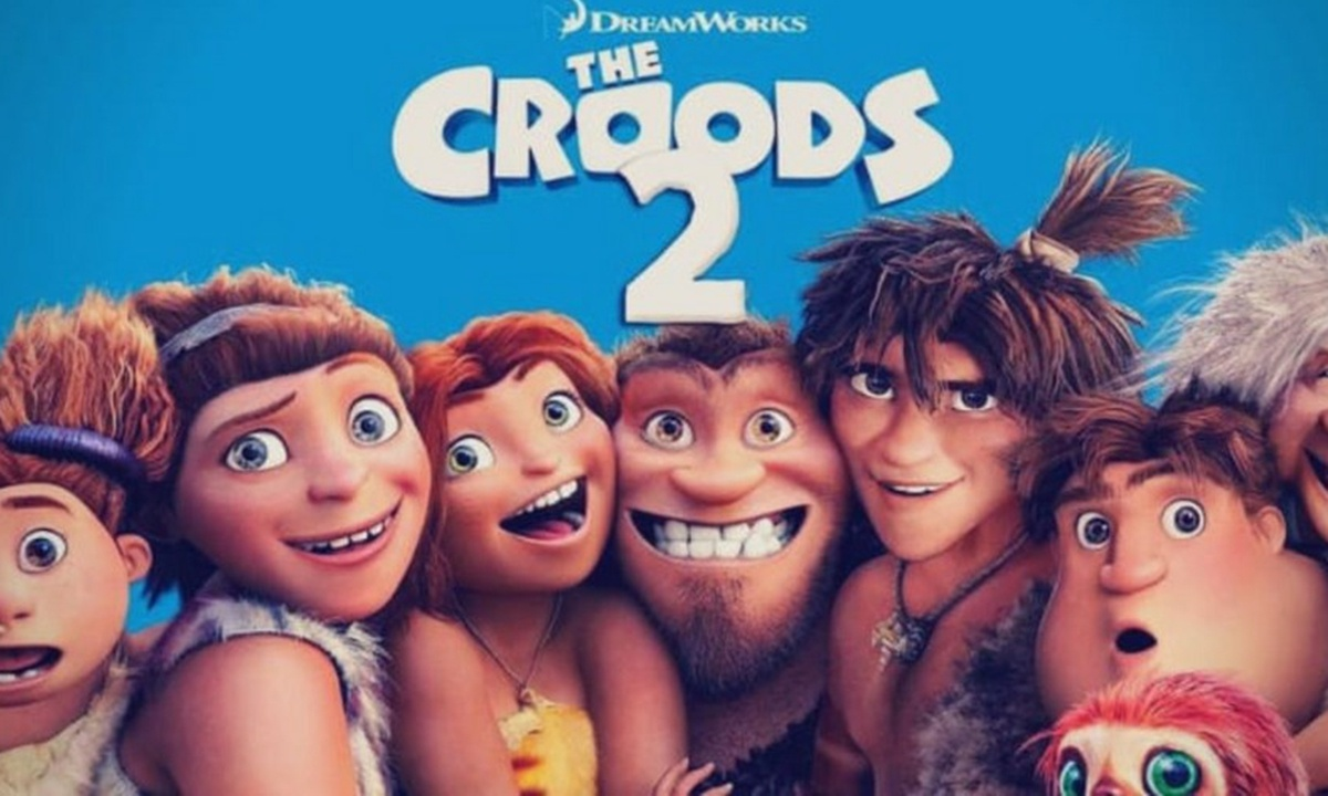 'The Croods: A New Age' tops North American box office for 2nd weekend in a row