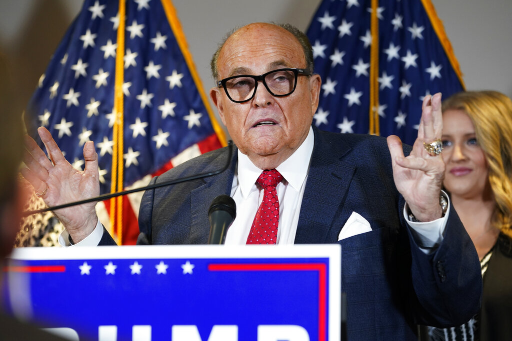 Trump lawyer Rudy Giuliani tests positive for COVID