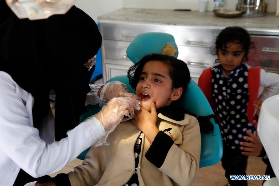 Feature: Charity medical camp offers glimmer of hope for poor Yemenis