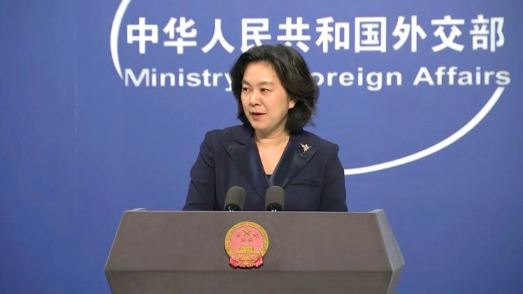 """China urges US to withdraw """"erroneous decision"""" of sanctions on NPC officials"""