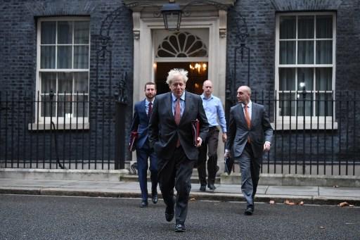 UK's Johnson says 'long way apart' with EU on Brexit talks