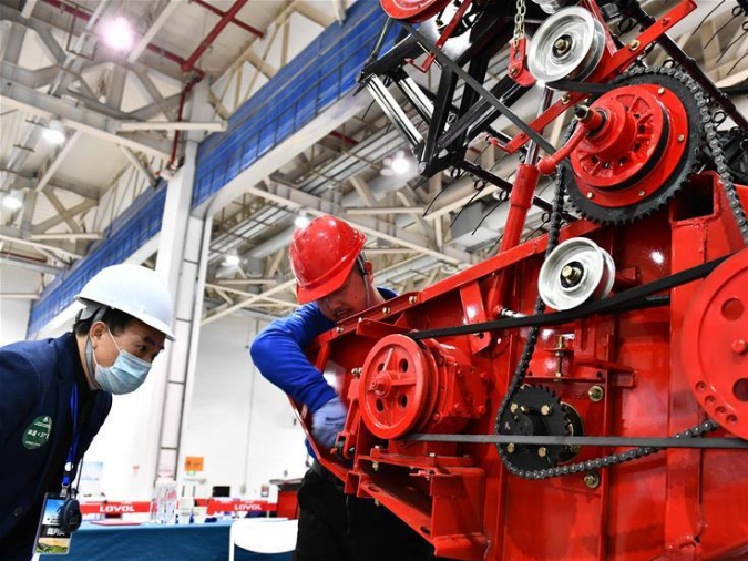 China to hold nation's 1st Vocational Skills Competition