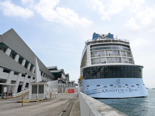 Cruise ship returns to Singapore after passenger tests positive for COVID-19