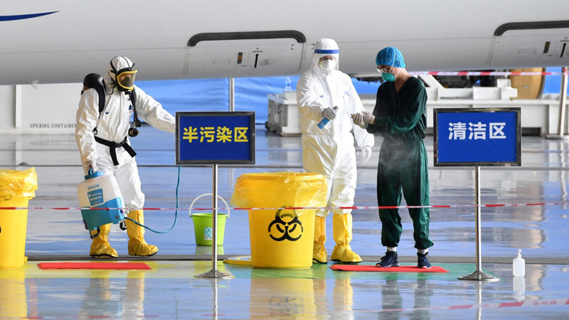 Chinese mainland reports 15 new confirmed COVID-19 cases