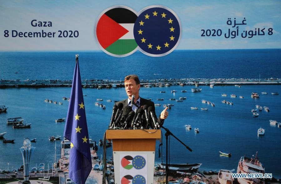 EU says to work to deliver available COVID-19 vaccines to Gaza