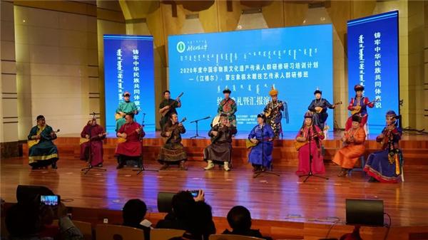 IMNU hosts intangible cultural heritage inheritor seminar