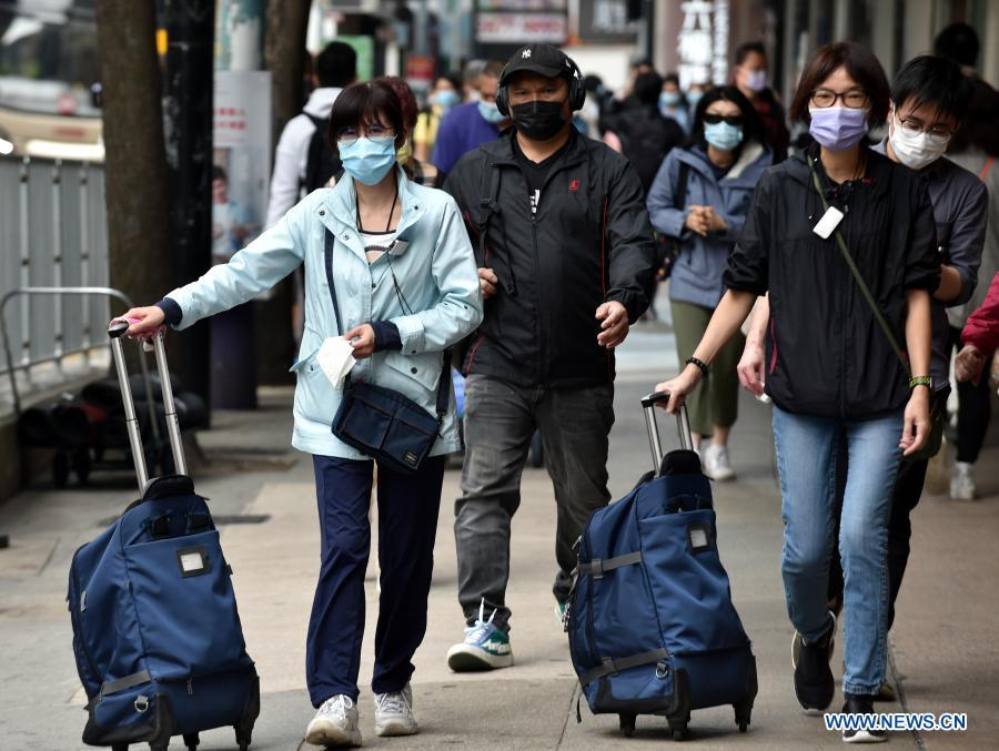Hong Kong reports triple-digit COVID-19 spike for 3 consecutive days