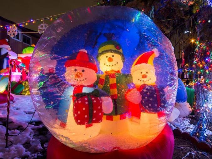 Christmas lights, decorations seen in Toronto