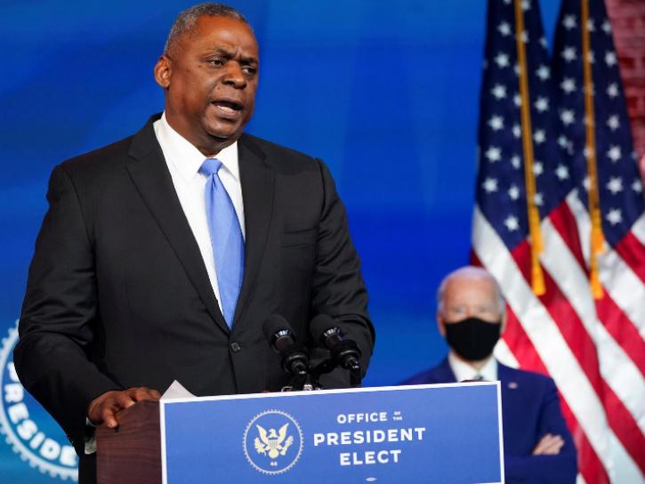 Biden picks first Black US secretary of defense, says 'right moment'