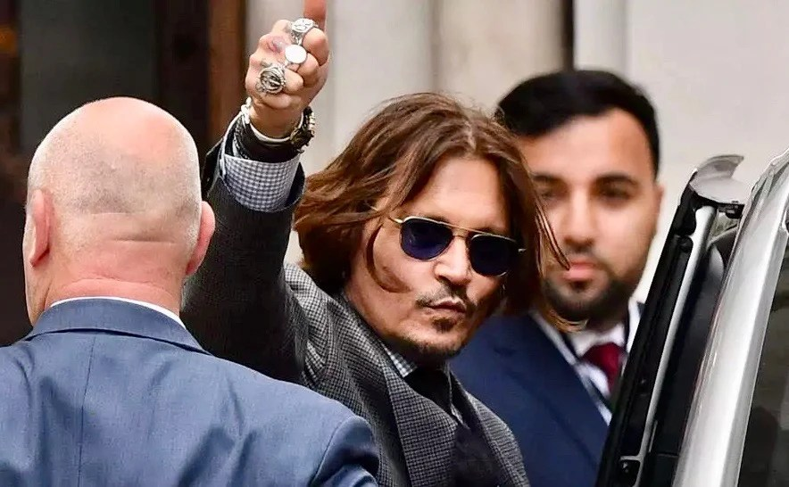 Depp lodges appeal over 'wife-beater' ruling in UK