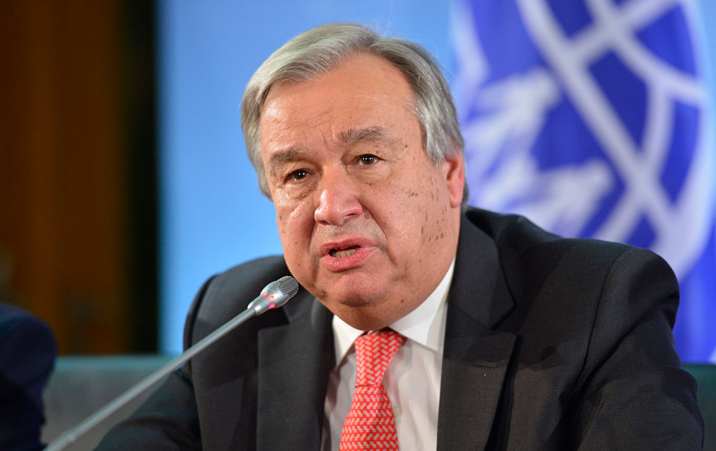 UN chief warns against vaccine nationalism, appeals funding for Africa