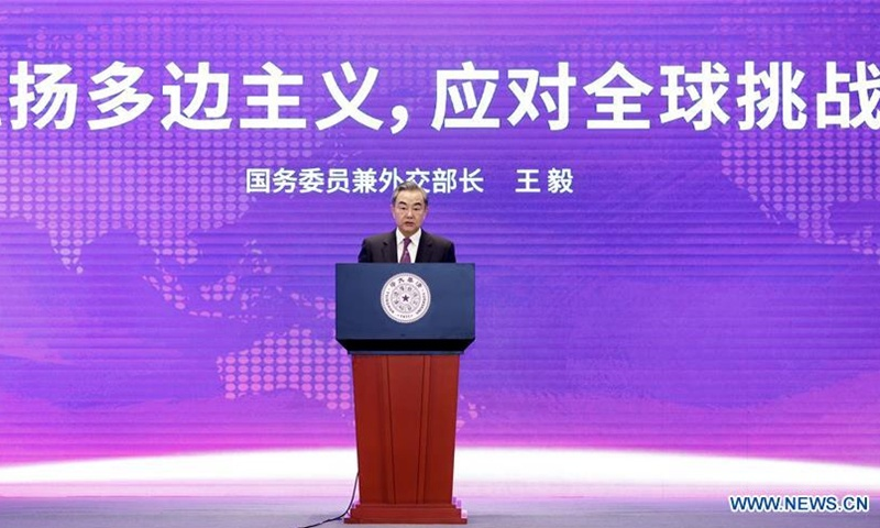 Wang Yi urges rebuilding framework for healthy devt of China-US ties