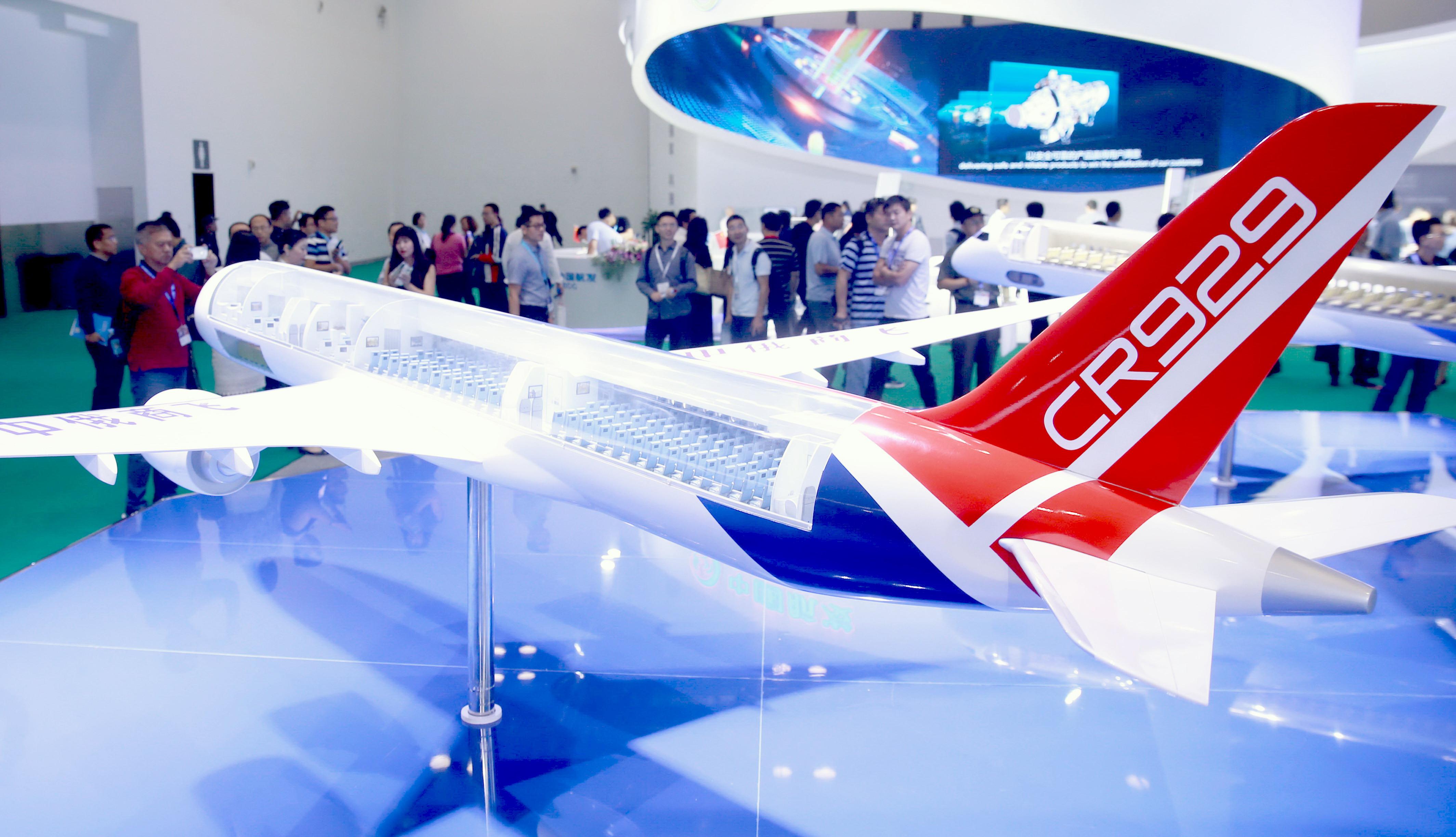 CR929 jetliner to hit global market in 2023
